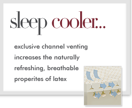 Sleep Cooler on Latex